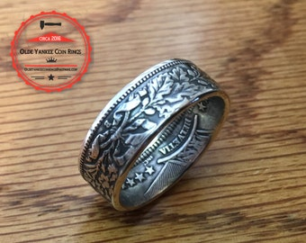 Coin Ring Swiss 1 Franc