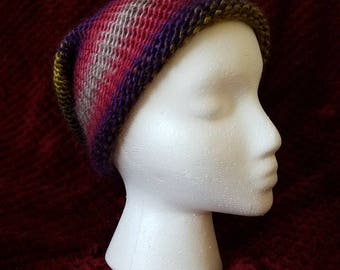 Multicolor/gradient Slouchy Beanie (adult)