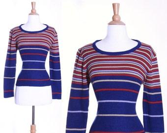70s Skinny Minny tomboy sweater - xs small or medium