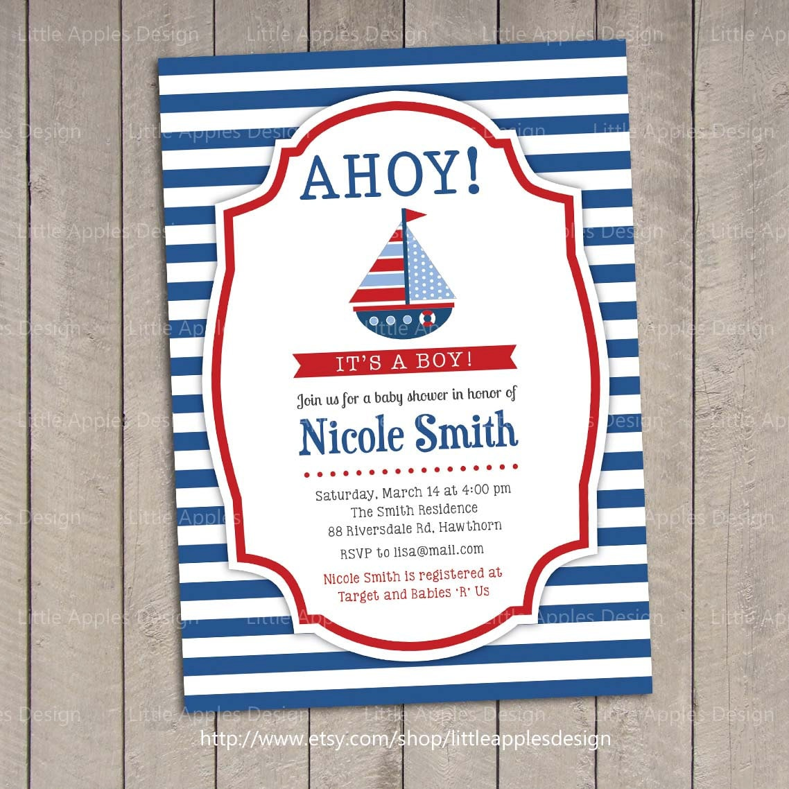 trends viral wallpaper baby nautical invitations create new shower free