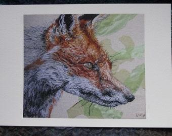 Fox Fine Art Giclee print