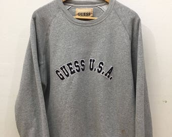 Vintage Guess Jeans One Size fits all unisex DS tee heather gray igh0o