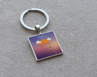 Keychain Coldplay album art