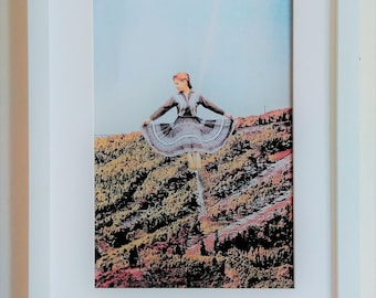 Collage print. Landslide.