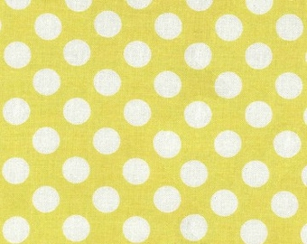 MICHAEL MILLER -  Ta Dot - CX1492-Acid-D - Dots - Yellow - White - One More Yard