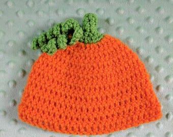 Halloween Pumpkin Baby Toddler Adult Hat