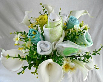 Bouquet of lilies fresh for a young MOM!