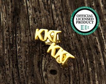 Kappa Kappa Gamma Letter Stud Earrings | Sorority Earrings | Kappa Kappa Gamma Earrings | Kappa Earrings | Sorority Jewelry | Kappa Jewelry