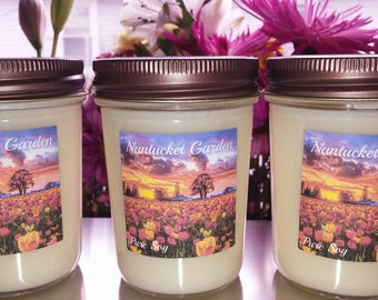 Nantucket Garden 8oz Jelly Jar