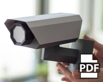 CCTV - DIY Papercraft Kit (Instant Download)