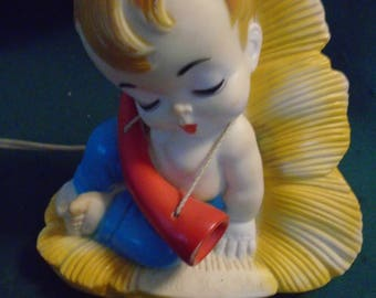 Vintage 1958 Little Boy Blue Nightlight by Alan Jay