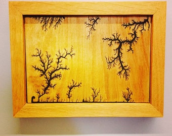 Grape vines on hard Wood...Art, as well as wood frame designed and handcrafted by IEW! Please contact us for custom options.