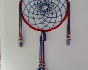 Dream Catcher  Red,White, and Blue Crochet
