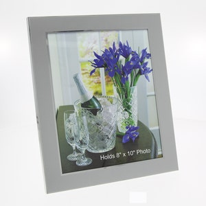 Personalized photo frame 8x10 - Engraved photo frame - Wedding photo frame