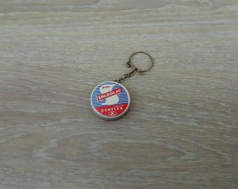 Vintage padolac waxing for vinyl keychain