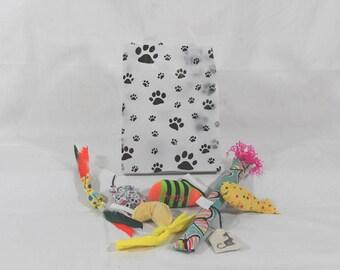 Catnip toy assortment, cat supplies, pet supplies, cat toys, pet toys