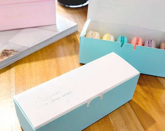 Packaging For Macarons Macaron box etsy 10 macaron gift boxes macaron packaging cookie boxes candy boxes eclair boxes sisterspd