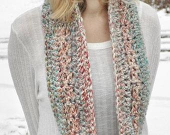 Chunky Infinity Scarf | Chunky Cowl | Crochet Infinity Cowl | Crochet Scarf | Knit Cowl | Knit Scarf |  Handmade Scarf | 70 Colors Available