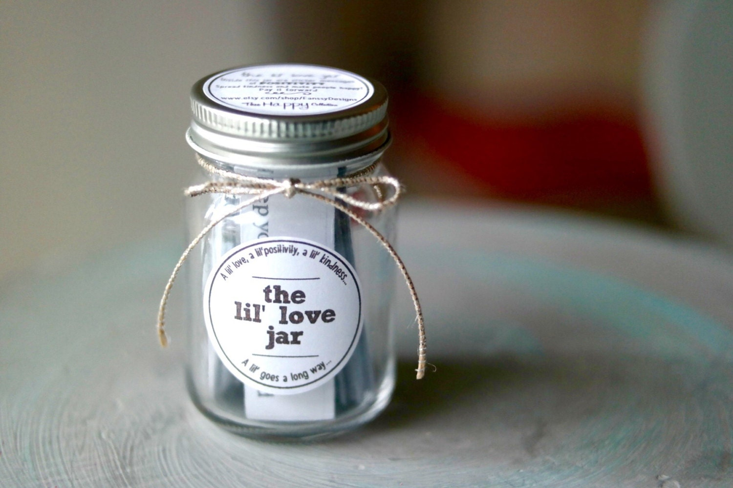 Quotes Jar The Lil' Love Jar With Sticker Messages Quotes Words