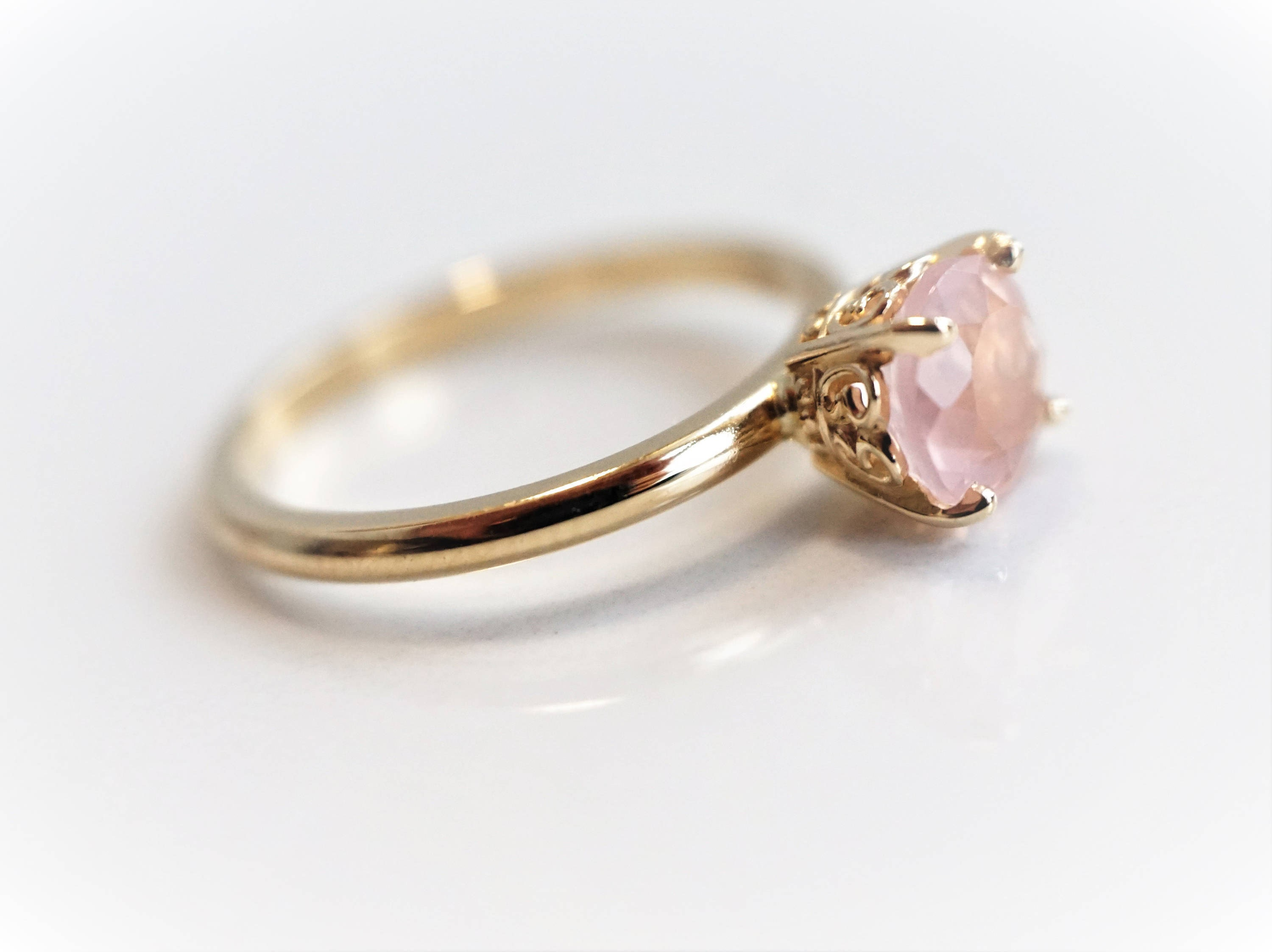 ring rutilated bea champagne medium arrow amp wedding of rings quartz rose golden diamonds luxury idea awesome