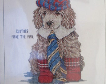 Cross-Stitch Kit: Clothes Make the Man