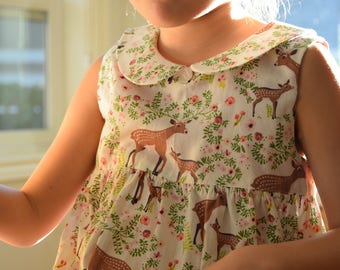 Deer and Fawn Dress