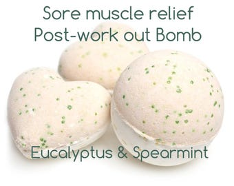 Post workout Bath Bomb-Sore muscle relief
