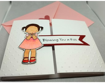 Blowing You a Kiss Card