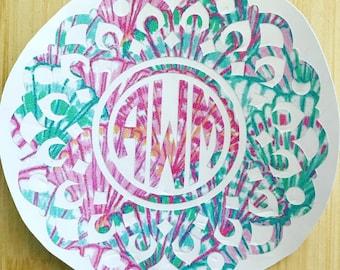 Manda Mandala Monogram