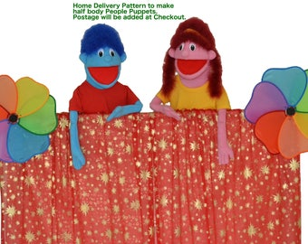 02. People Puppet Pattern by Church Puppets