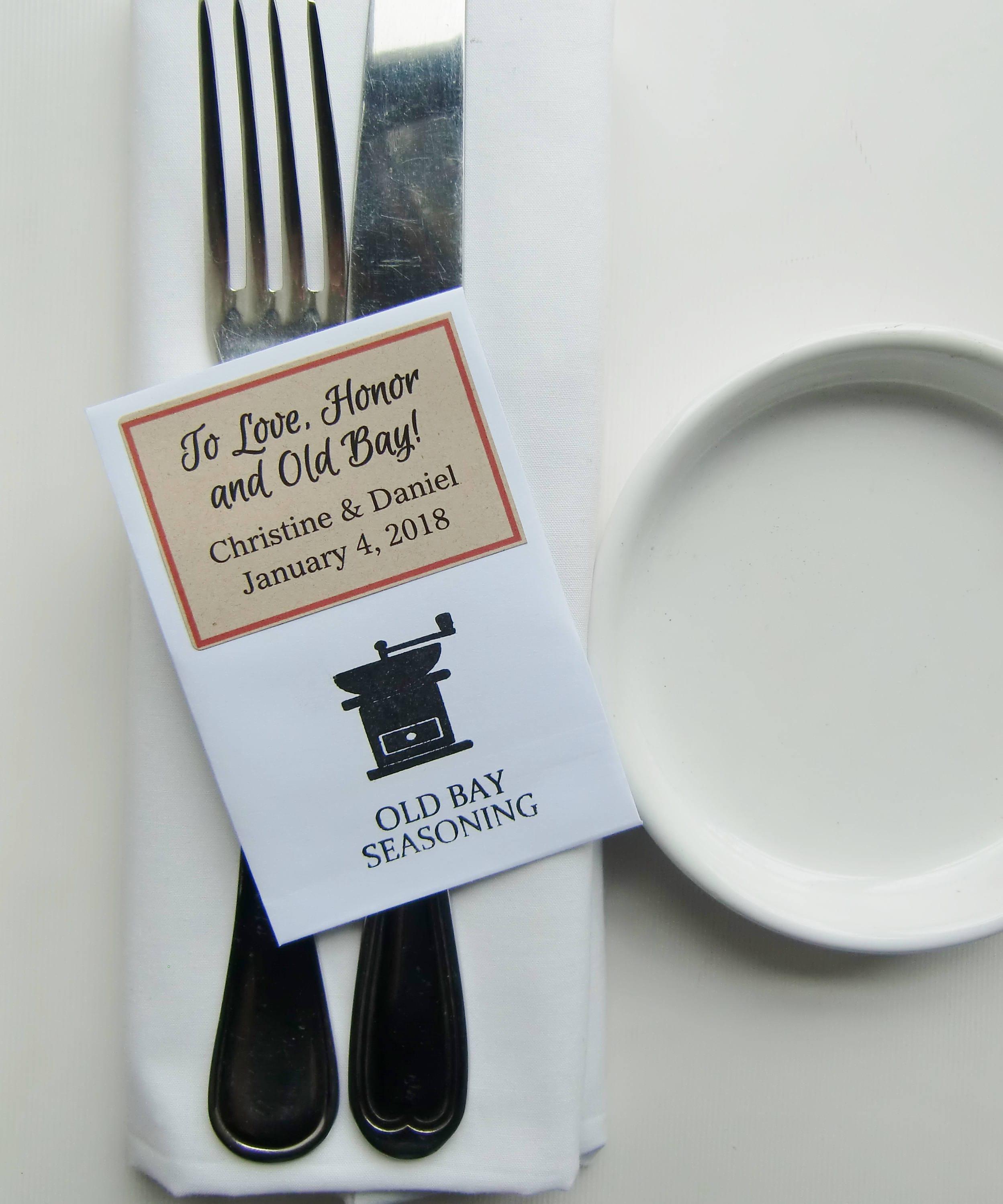 Maryland Wedding-Wedding Favors-DIY Wedding Favors for