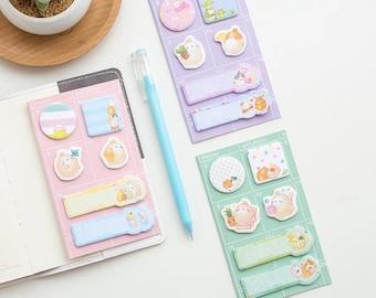 Molang Sticky notes, potato rabbit sticky notes, memo pad, notepad
