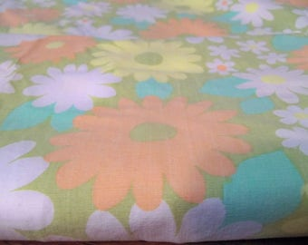 vintage flat sheet  cut now  material
