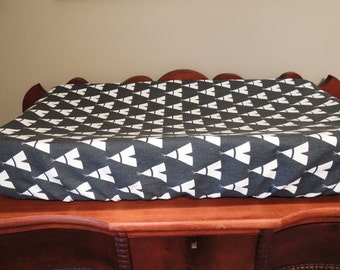 Changing Cover, Changing Pad Cover, Teepee, Boy, Tribal, Nursery, Baby,