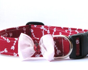 All My Love Ladybug Pet Collar