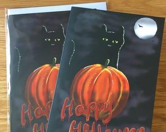 Halloween cards A6