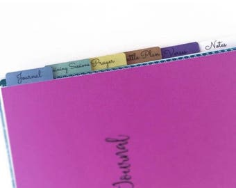 Happy Planner expansion Kit, Armory Journal Add-on kit.  Turn your Happy Planner into an Armory Journal.