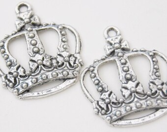 2pcs. Victorian Style Inspired Crowns