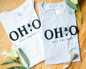 OHIO Save The Bees Shirt Ohio proud