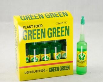 Free Shipping 10 Bottles Green Green Lucky Bamboo Plant Food & Fertilizer