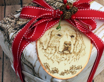 Great Pyrenees Christmas Ornament or Gift.