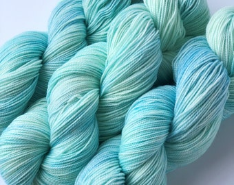 Frosted Windowpanes - Dyed to Order Yarn - Hand Dyed Yarn - Sock Yarn - Choose Your Base
