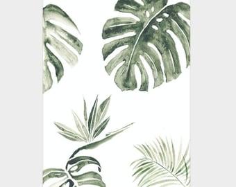 Mini Poster A5 - Tropic - Unique Design - SFA