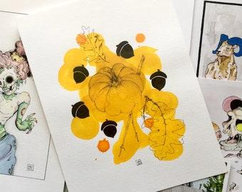 Fall Inspired Illustration