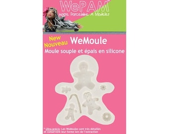 MOLD WE PAM - WEMOULE gingerbread family