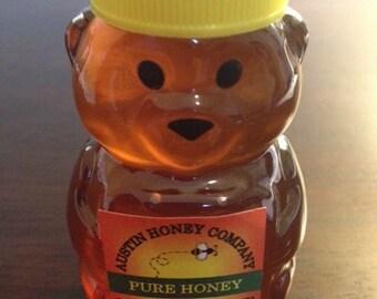 150 of our 2 oz. Tiny Bear raw wildflower honey