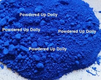 Free Shipping! 5g 5 Grams SAMPLE Ultramarine BLUE Matte Make Up Mp Cp Soap Cosmetic Pigment DIY Powder