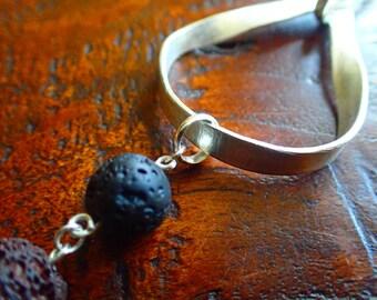 Fine Silver Diffuser Necklace Handmade fine silver necklace- essential oil diffuser necklace-aromatherapy necklace- aroma diffuser necklace