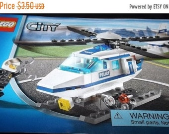 35% OFF SALE LEGO City Helicopter assembly booklet 7741
