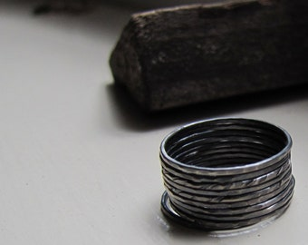 Oxidized Stack Rings